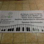 branda poster afiş satılık brandası bez afiş